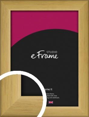 Pine Coloured Natural Wood Picture Frame (VRMP-1130)