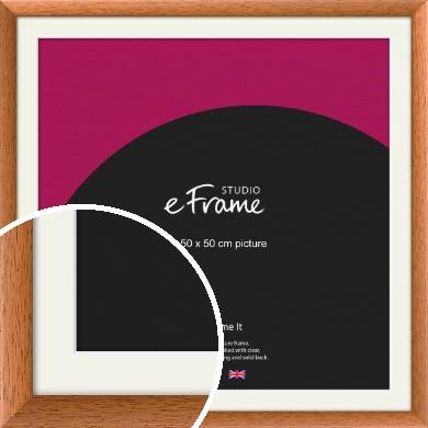 Heartfelt Brown Picture Frame & Mount, 50x50cm (VRMP-276-M-50x50cm)