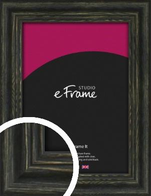 Tattered Black Picture Frame (VRMP-1141)