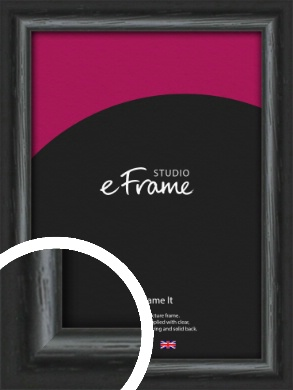Urban Textured Black Picture Frame (VRMP-1144)
