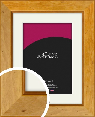 Rich Brown Picture Frame & Mount (VRMP-169-M)