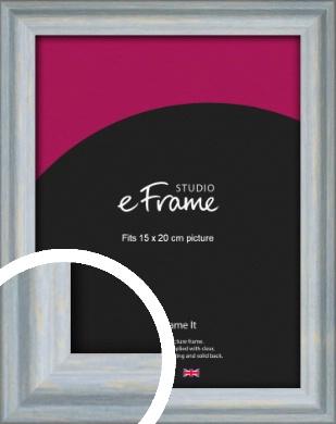 Shoreline Blue Picture Frame, 15x20cm (6x8