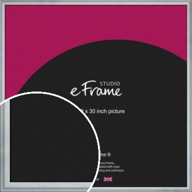 Shoreline Blue Picture Frame, 30x30