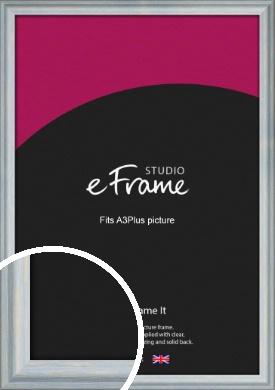 Shoreline Blue Picture Frame, A3Plus (VRMP-1150-329x483mm)