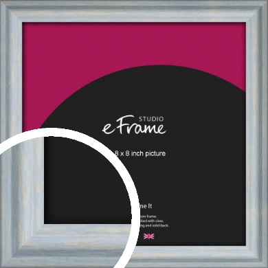 Shoreline Blue Picture Frame, 8x8