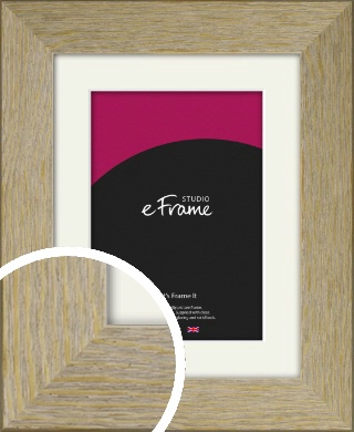 European Pine Natural Wood Picture Frame & Mount (VRMP-1151-M)