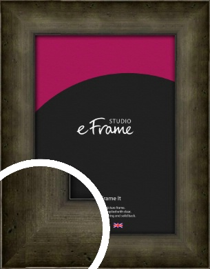 Chamfered Hammered Bronze / Copper Picture Frame (VRMP-248)