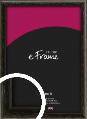Versatile Open Grain Black Picture Frame (VRMP-137)