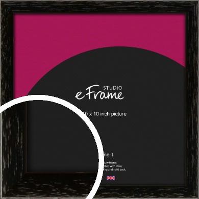 Classic Grain Black Picture Frame, 10x10
