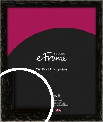 Classic Grain Black Picture Frame, 10x12