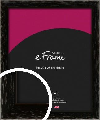 Classic Grain Black Picture Frame, 20x25cm (8x10