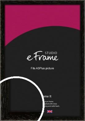 Classic Grain Black Picture Frame, A3Plus (VRMP-379-329x483mm)