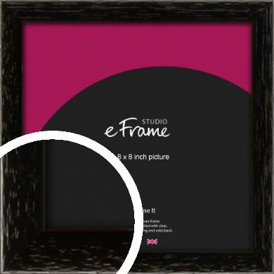 Classic Grain Black Picture Frame, 8x8