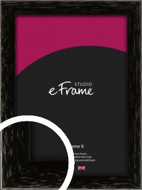 Classic Grain Black Picture Frame (VRMP-379)