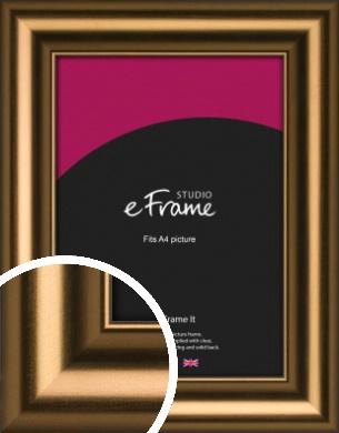 Luxurious Blush Bronze / Copper Picture Frame, A4 (210x297mm) (VRMP-1176-A4)
