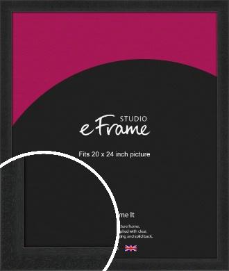 Deep Box Black Picture Frame, 20x24