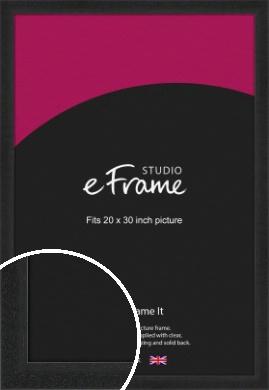 Deep Box Black Picture Frame, 20x30