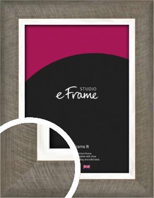 Swirl Design Shadow Silver Picture Frame (VRMP-1186)