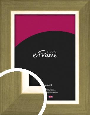 Brushed & Elegant Gold Picture Frame (VRMP-1187)