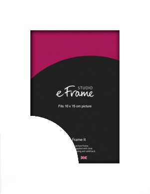Flat Stark White Picture Frame, 10x15cm (4x6