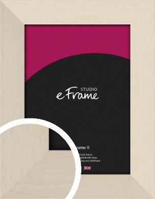Off White Scandi Style Cream Picture Frame (VRMP-223)
