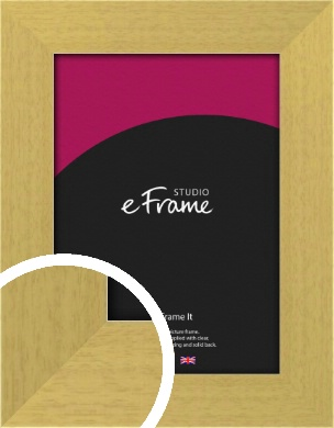 Smooth Stained Natural Wood Picture Frame (VRMP-149)