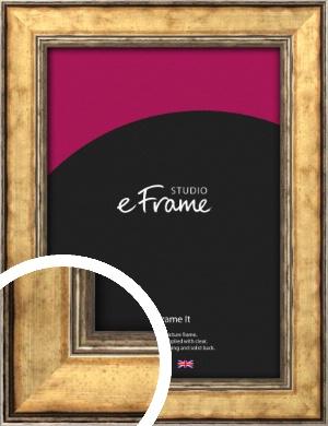 Elegant Dark Gold Picture Frame (VRMP-130)