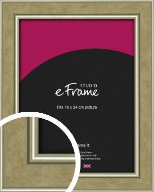 Timeless Peanut Brown Picture Frame, 18x24cm (VRMP-1192-18x24cm)
