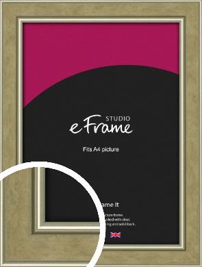Timeless Peanut Brown Picture Frame, A4 (210x297mm) (VRMP-1192-A4)