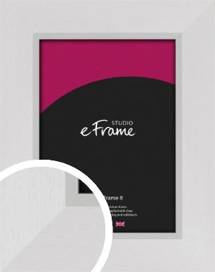 Clean Cotton White Picture Frame (VRMP-745)