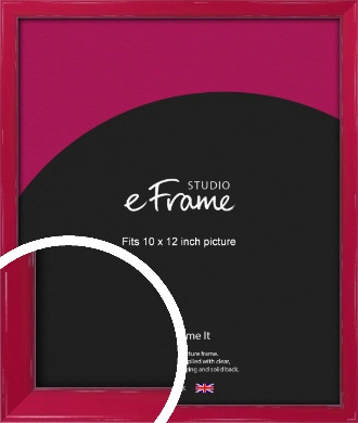 Gloss Poppy Red Picture Frame, 10x12