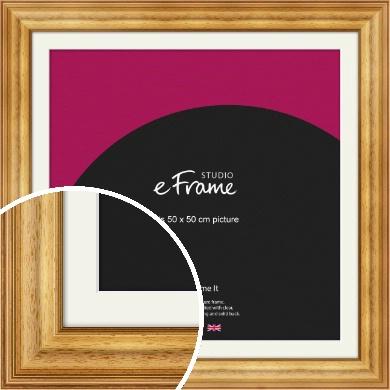 Chunky Gold Picture Frame & Mount, 50x50cm (VRMP-457-M-50x50cm)