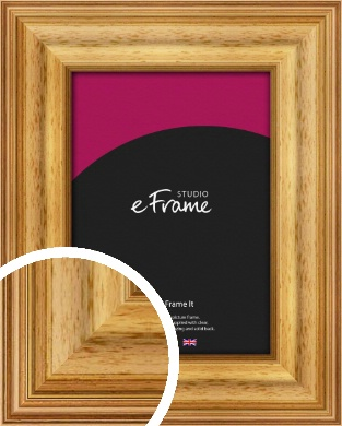 Chunky Gold Picture Frame (VRMP-457)