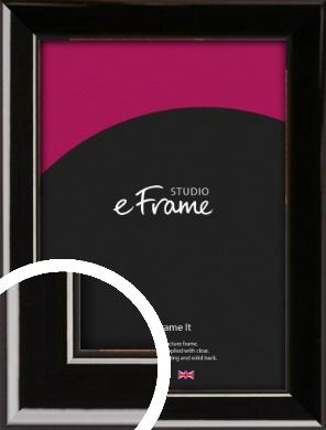 High Shine Black Picture Frame (VRMP-774)