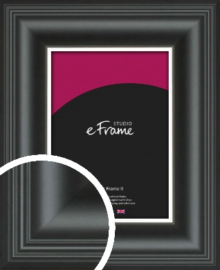 Timeless Silver & Black Picture Frame (VRMP-1207)