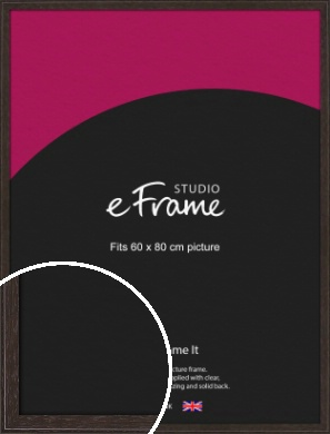 Deep Bevel Mocha Brown Picture Frame, 60x80cm (VRMP-1209-60x80cm)