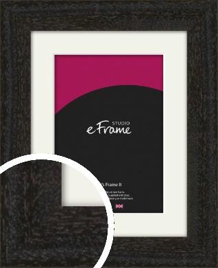 Basic Worn Brown Picture Frame & Mount (VRMP-1218-M)