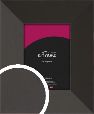 Ultra Simple Wide Black Picture Frame, A6 (105x148mm) (VRMP-732-A6)