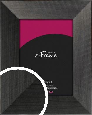 Stylish & Timeless Brushed Black Picture Frame (VRMP-730)