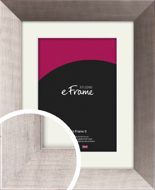 On Trend Silver Picture Frame & Mount (VRMP-530-M)