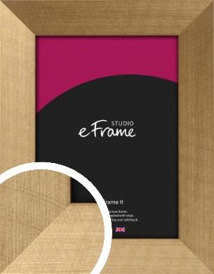 Black Edged Gold Picture Frame (VRMP-553)