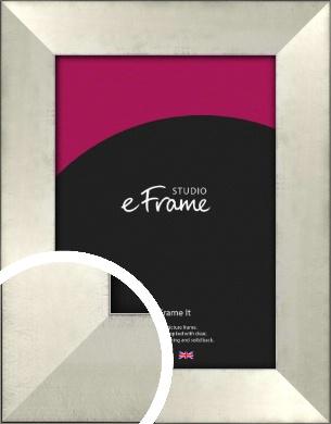 Black Edged Silver Picture Frame (VRMP-495)