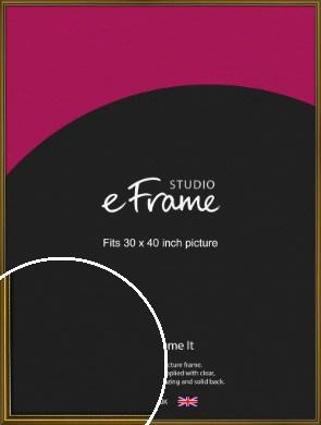 Vintage Gold Picture Frame, 30x40