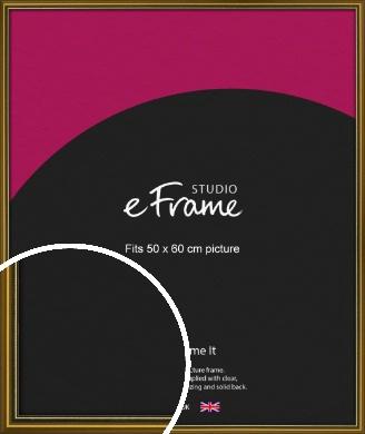 Vintage Gold Picture Frame, 50x60cm (VRMP-1233-50x60cm)