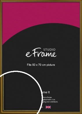 Vintage Gold Picture Frame, 50x70cm (VRMP-1233-50x70cm)