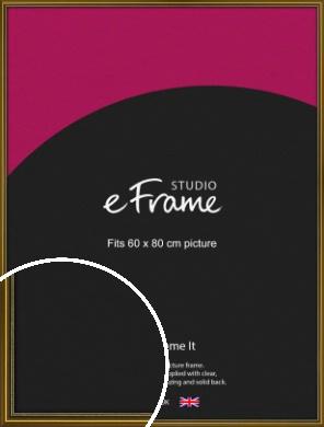 Vintage Gold Picture Frame, 60x80cm (VRMP-1233-60x80cm)