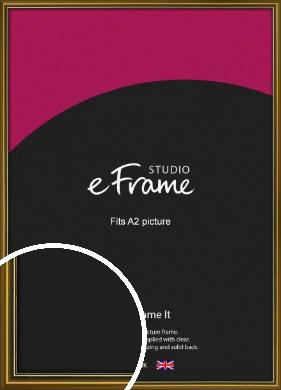Vintage Gold Picture Frame, A2 (420x594mm) (VRMP-1233-A2)