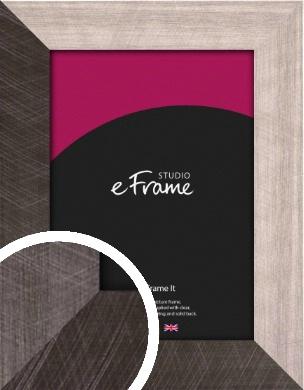 Subtle Etched Silver Picture Frame (VRMP-533)