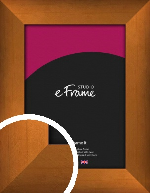 Etched Spice Bronze / Copper Picture Frame (VRMP-140)
