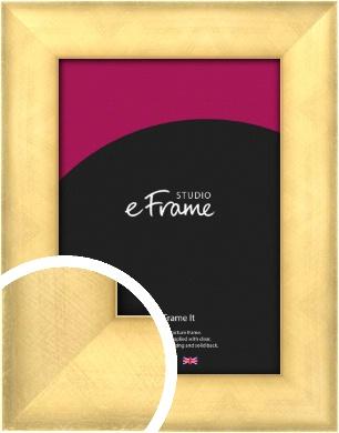 Brushed Gold Picture Frame (VRMP-132)